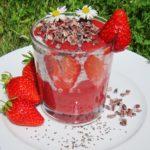 Erdbeerchiadessert